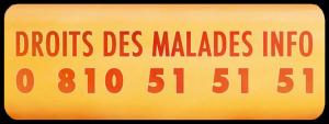 logo droits des malades info 0810515151